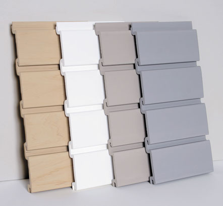 slatwall wall organization systems - panels by Handiwall™